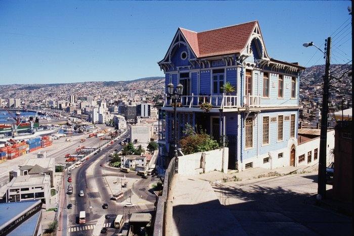 Casa Cuatro Vientos, Valparaiso V Region, Chile.