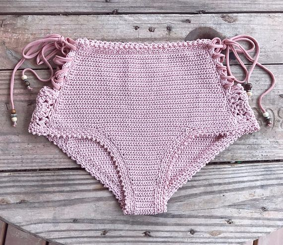 PDF-file for Crochet PATTERN Aliyah Crochet Bikini Bottom