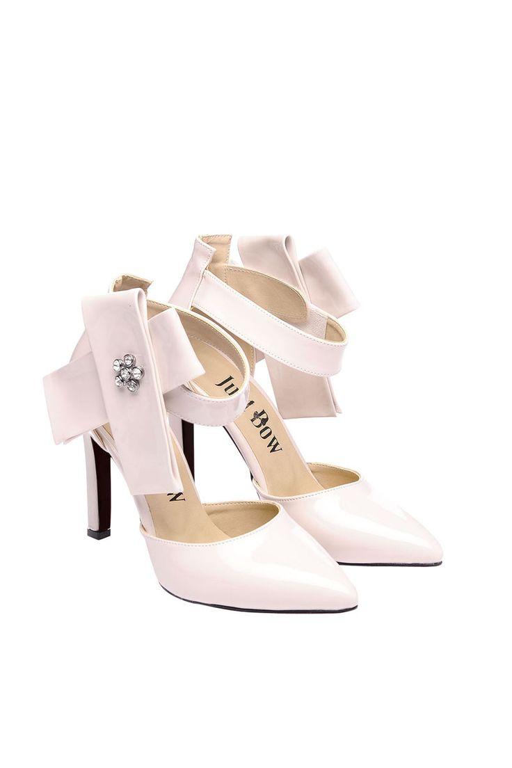Vendita Just Bow / 24369 / Scarpe con tacco / Scarpe con Tacco Verniciate Bianco