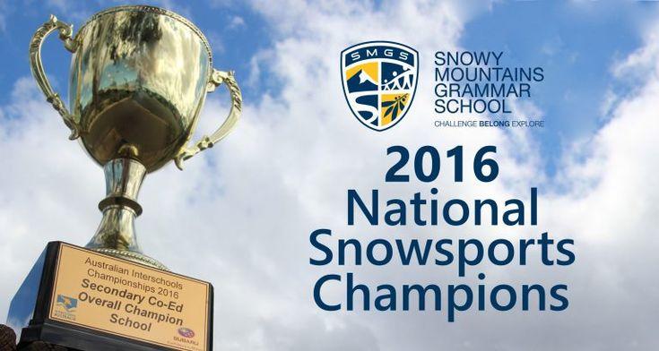 2016 Australian Interschools Snowsports Championships Wrap-Up – Snowy Mountains Grammar School