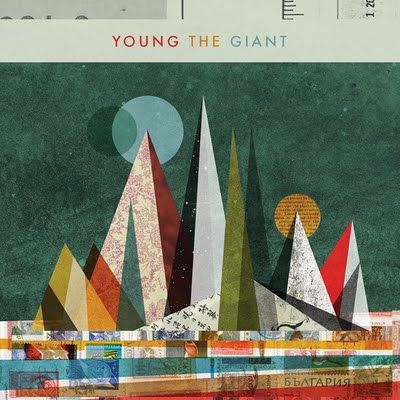 Young The Giant album cover - like Rauchenburg, Moholy-nagy and Kandinski