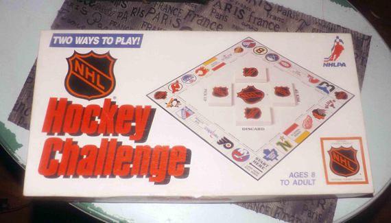 Vintage c.1986 NHL Hockey Challenge board game published and