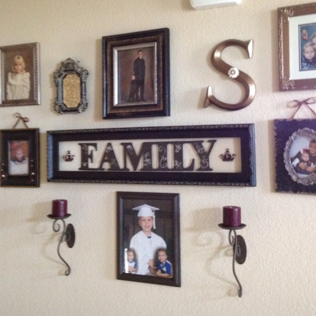 10 Images About Wall Photo Collage Ideas On Pinterest