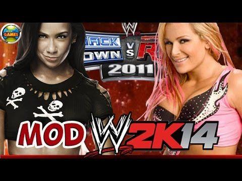 WWE Natalya vs. AJ Lee [SvR 2011] MOD 2K14 #PS2
