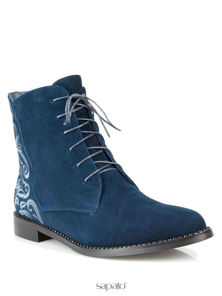 Купить синие ботинки Vitacci 69006M в интернет-магазине Sapato