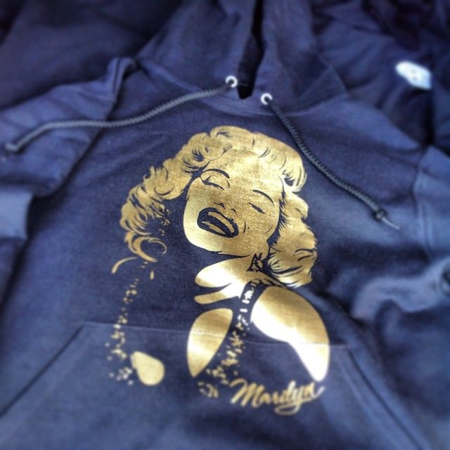 Receipt Maker App Excel  Best Marilyn Monroe Tattoo Images On Pinterest  Marylin Monroe  How To Make A Receipt Pdf with Bmw X3 Invoice Marilyn Monroe Gold Foil Hooded Sweatshirt To Order Email Us At Press Sugarcrm Invoice Module Excel
