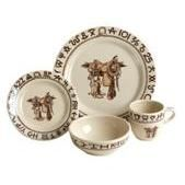 Boots and Saddle Western Dinnerware 16 Pc Set by True West - Dinnerware PLACE SETTINGS |  sc 1 st  Pinterest & 29 best Western Decor Theme images on Pinterest | Southwestern style ...