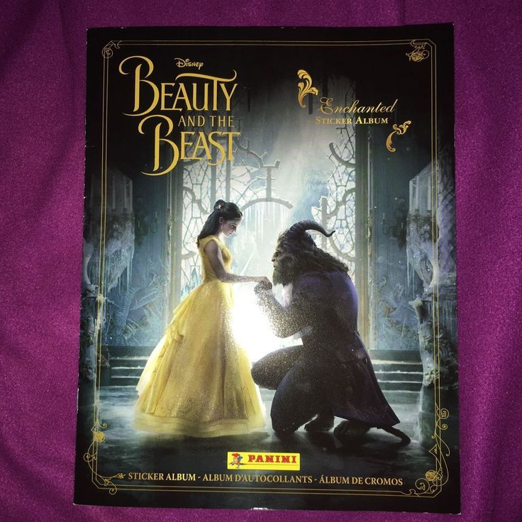 New Beauty & The Beast Panini Sticker Collection Album + Bonus 30 Loose Stickers  | eBay