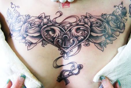 This one is another one of mine and jays matching tattoo he is getting a heart and key lock as well but more manly I want it on my lower back