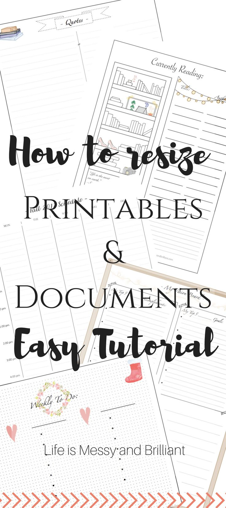 Hello, there! How to resize a printable is one of the most frequent questions I
