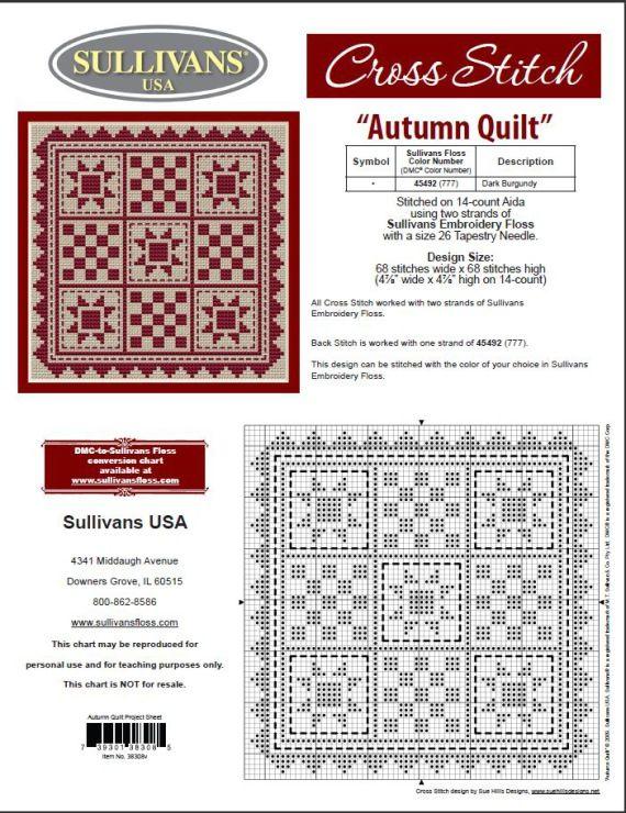Gallery.ru / Фото #4 - 163 Quilts Cross Stitch - joobee