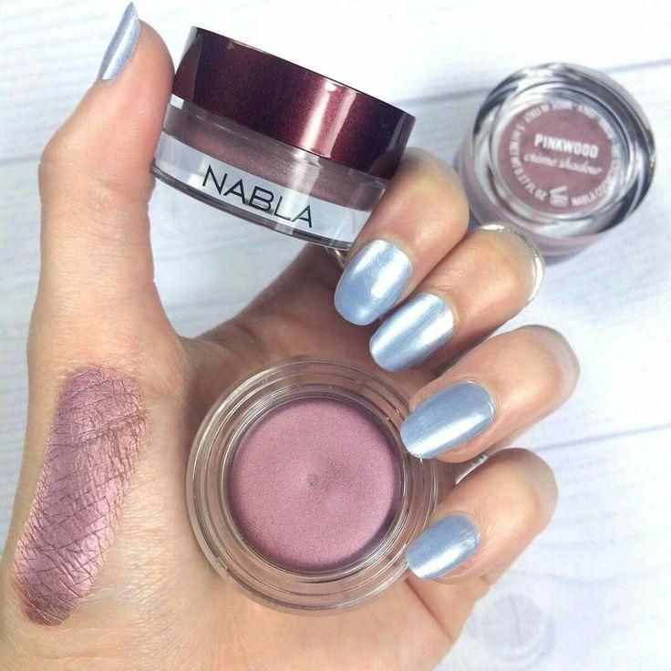 """Pinkwood"" Crème Shadow Dusty pink-mauve #NABLA #NablaCosmetics"