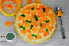 Crostata di melone crema delicata e gelatina ricetta estiva