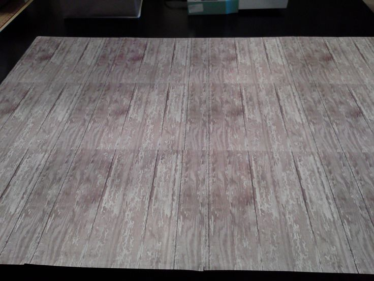 How to make a faux wood floor photography prop 11 for Fake wood flooring