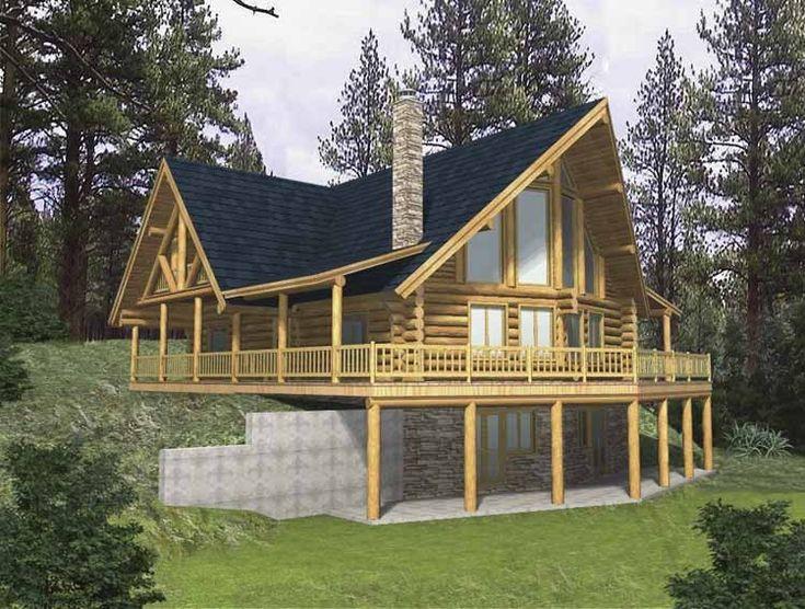 58 best home plans images on Pinterest Home plans Cabin plans