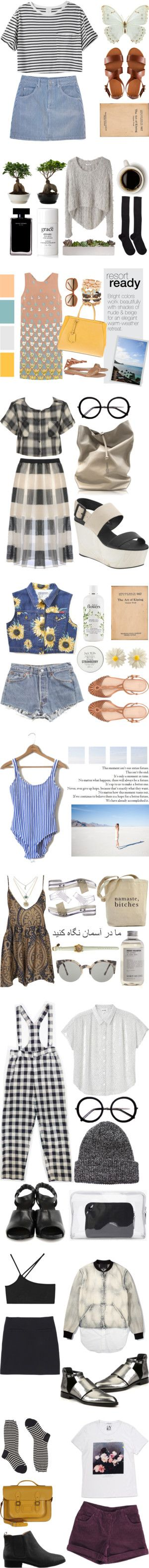 """Those Summer Nights"" by natalieoffduty ❤ liked on Polyvore"
