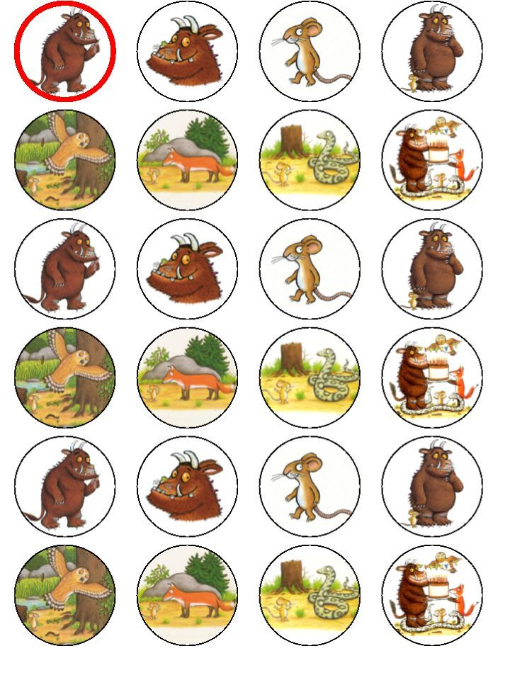gruffalo prints outs