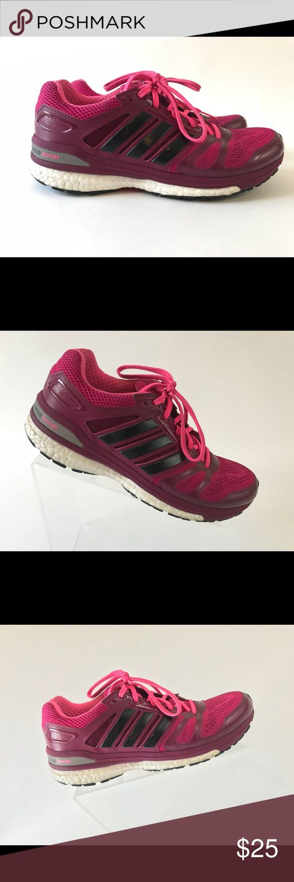 Adidas Supernova Sequence Boost Size 7.5 M Pink Adidas Supernova Sequence Boost Running Walking Shoes Size 7.5 M Pink   Condition: Very Good! Pre owned adidas Shoes Athletic Shoes