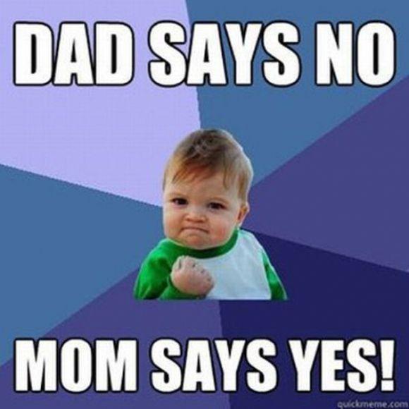 Dad says No | Baby Mum-Mum | Funny Baby Memes | #BabyMumMum #babymemes #funnymemes
