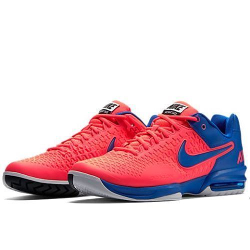 Nike-Air-Max-Cage-NEW-Men-Sz-10-11-Hyper-Punch-Blue-Tennis-Trainer-Sneakers-Pink