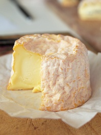 This looks delicious...Langres Plareau, authentic French cheese selected by Will Studd for Thomas Dux.