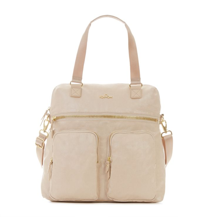 New Camryn Laptop Handbag - Sandy Teak