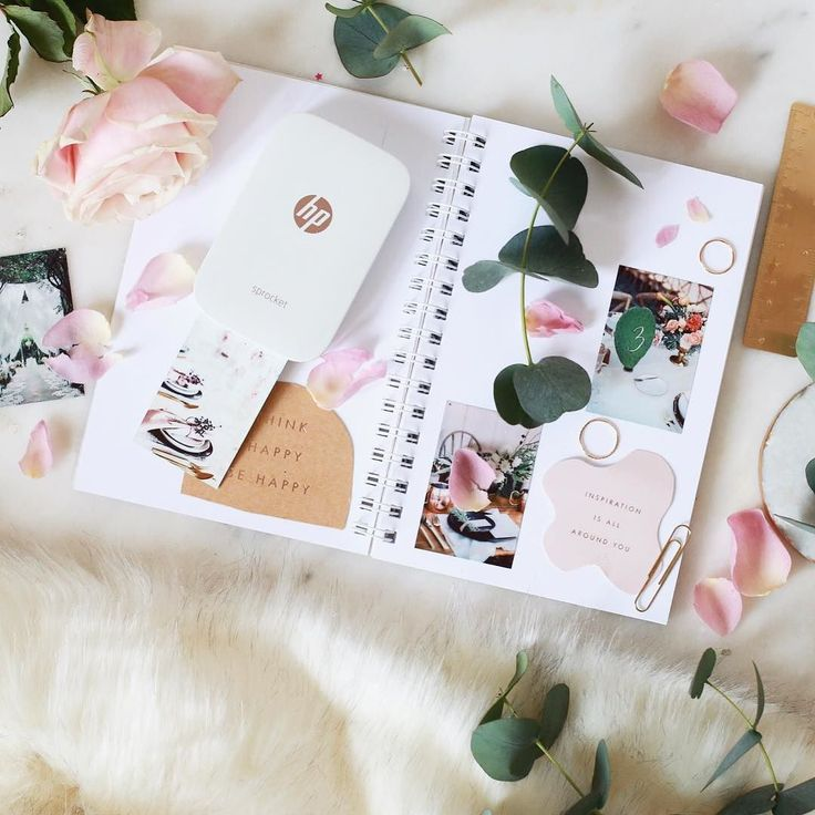 I started a wedding scrapbook! With my HP Sprocket I can visualise the day perfectly and make tough planning decisions. Sooo... any advice on flowers?! @HPEurope #partner