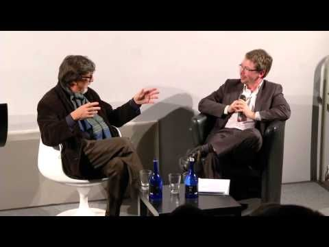 Bruno Latour gives a lecture titled 'Reenacting Science' at Science Gallery, Trinity College Dublin, Ireland