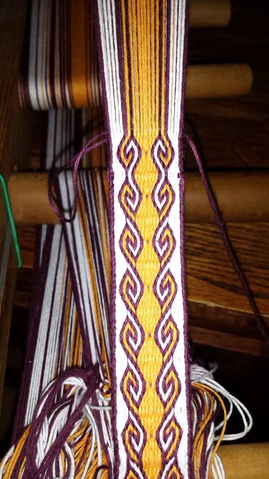Finchingefeld's Fancies: Advanced Card Weaving: Ram's Horn Pattern with instructions