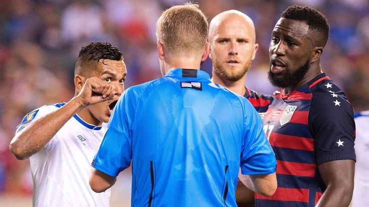 Jozy Altidore got some rough treatment in the U.S.'s victory vs. El Salvador, including a nipple grab and a bite. Luckily, he saw the funny side.
