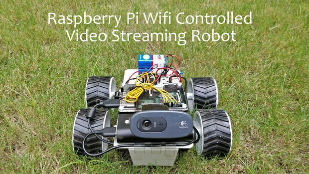 http://www.instructables.com/id/Raspberry-Pi-Wifi-Video-Streaming-Robot/