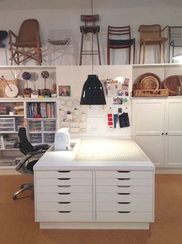 40 Best Craft Rooms Using Ikea, Craft Room Ideas With Ikea Furniture