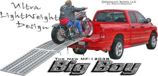 """""""Big Boy"""" Motorcycle Loading Ramps"""