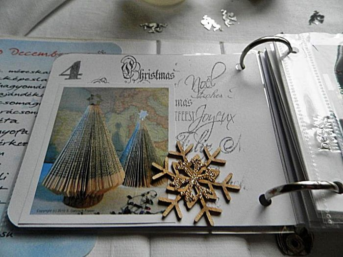 December Daily insta mini album | ScrapBolt.hu Blog