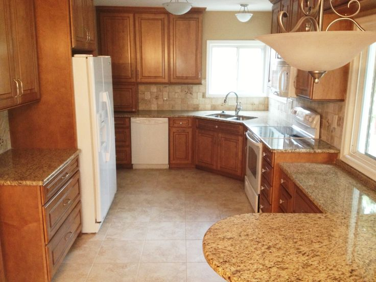 A Major Overhaul To This Kitchen Included A Built In Snack Bar And Cabinet  Storage Over