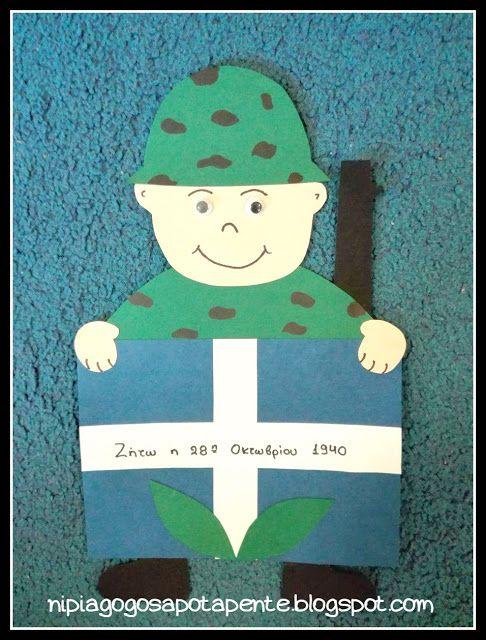 Νηπιαγωγός απο τα Πέντε: 28η Οκτωβριου 1940