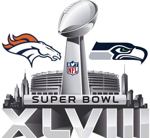 Broncos and Seahawks Super Bowl XLVIII