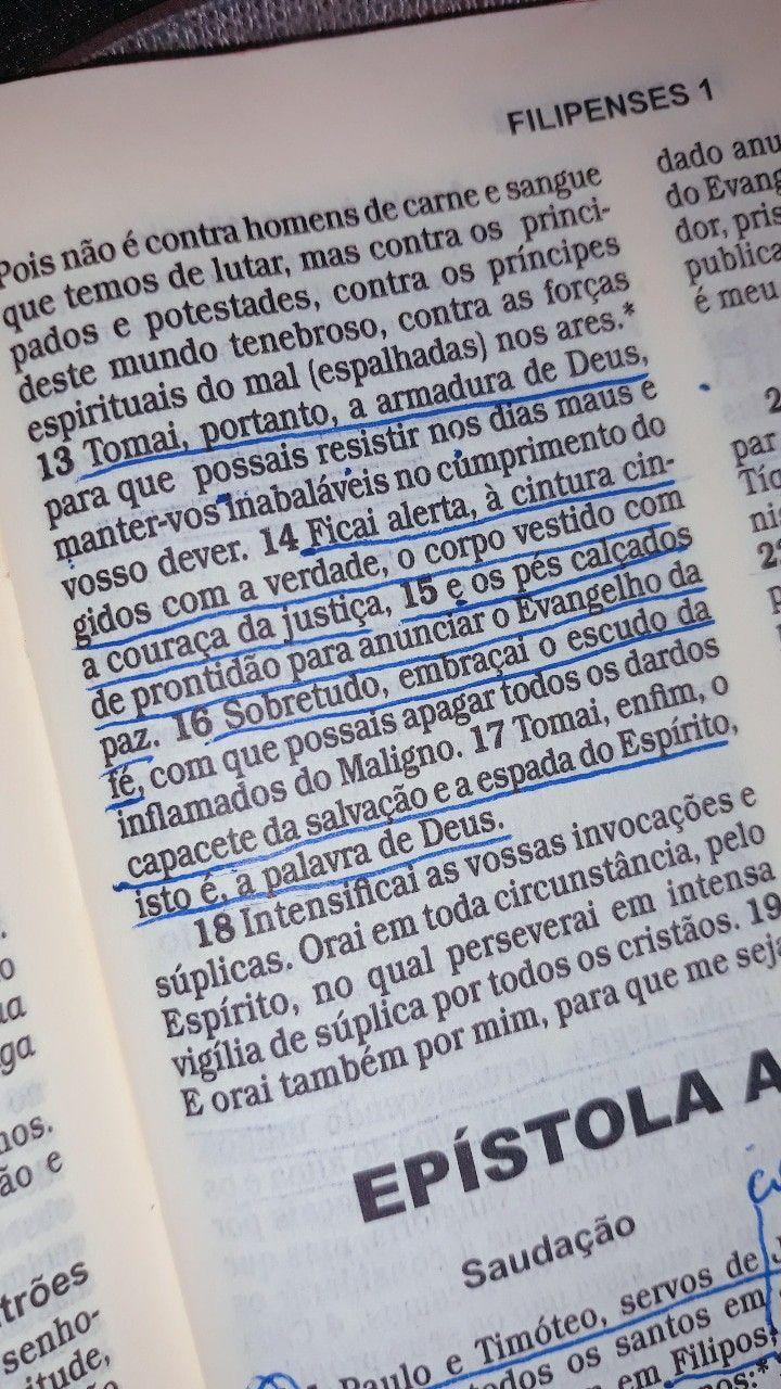 Efesios 6 Leituraorante Palavradedeus Oracao Bibliasagrada