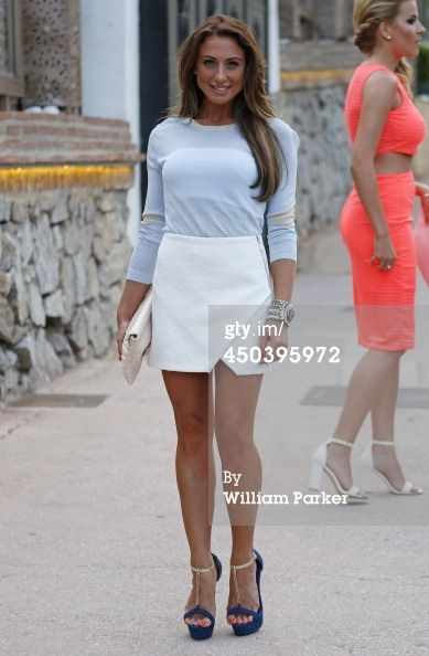 Grace Andrews spotted arriving at Mosaik for TOWIE filming on June 10... News Photo 450395972