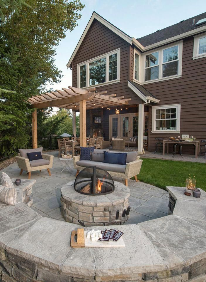 backyard basketball court in 2020 stone patio designs on modern deck patio ideas for backyard design and decoration ideas id=72158