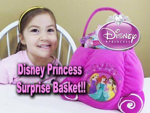 HUGE Disney Princess Easter basket filled with fun toys for us to open. Inside we find Kinder surprise eggs, Disney surprise eggs, Cinderella toys, Disney Pi...