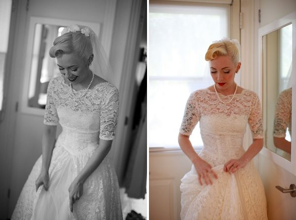 A Vintage Rockabilly Wedding in Canada