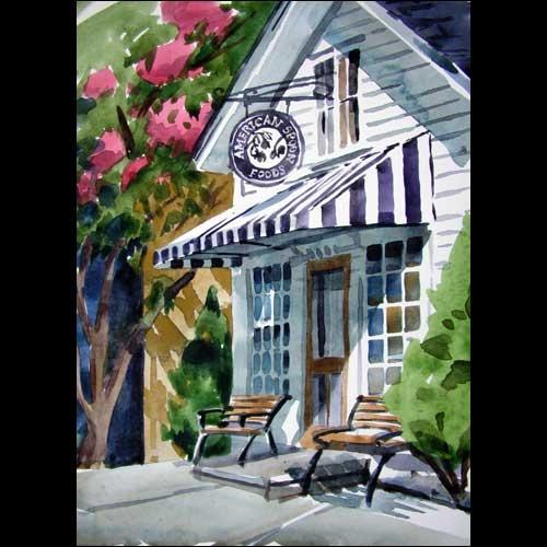 American Spoon store in Harbor Springs, MI by Jill Stefani Wagner.