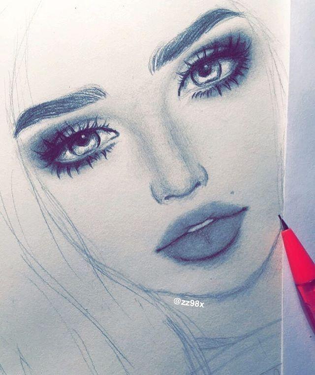 draw, drawing, drawings, illustration, illustrations, girl