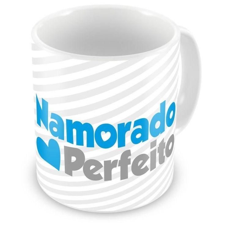 Caneca Porcelana Personalizada Namorado Perfeito - ArtePress | Brindes Personalizados, Canecas, Copos, Xícaras