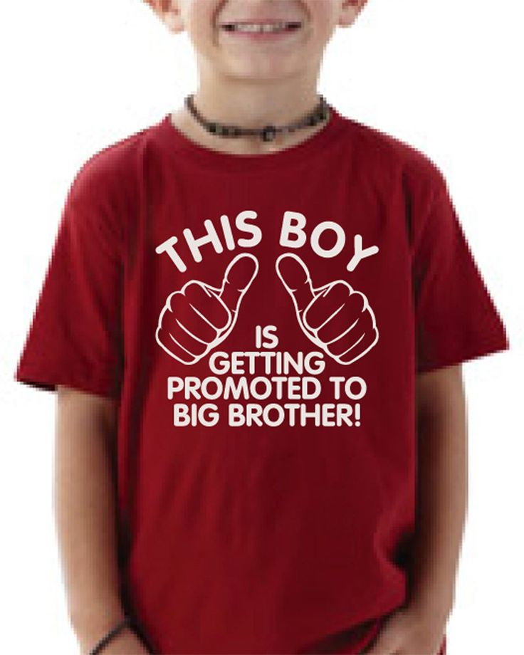 Big brother shirt  This boy is getting promoted by createmeatshirt, $14.00