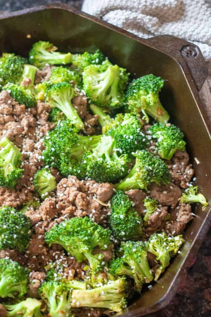 Easy Ground Beef And Broccoli Recipe In 2020 Broccoli Beef Ground Beef And Broccoli Quick Dinner Recipes Healthy