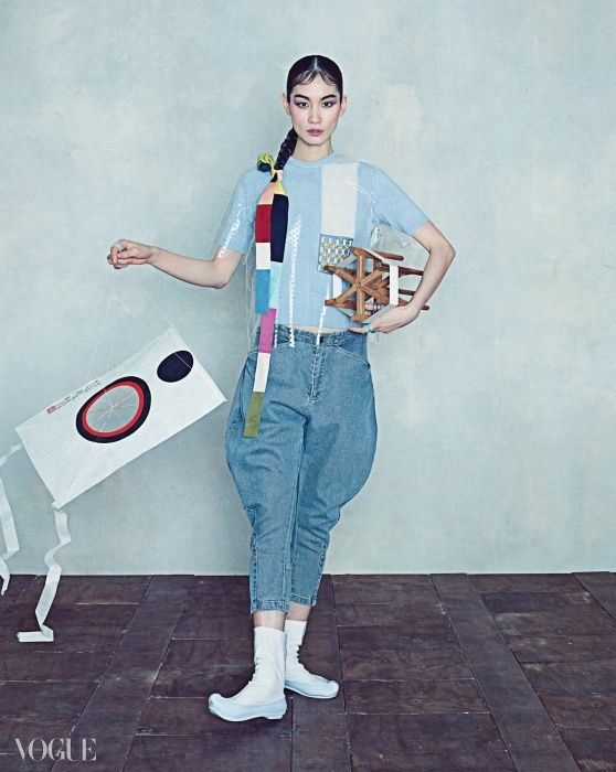 """Oriental Dream"" Vogue Korea 2015"