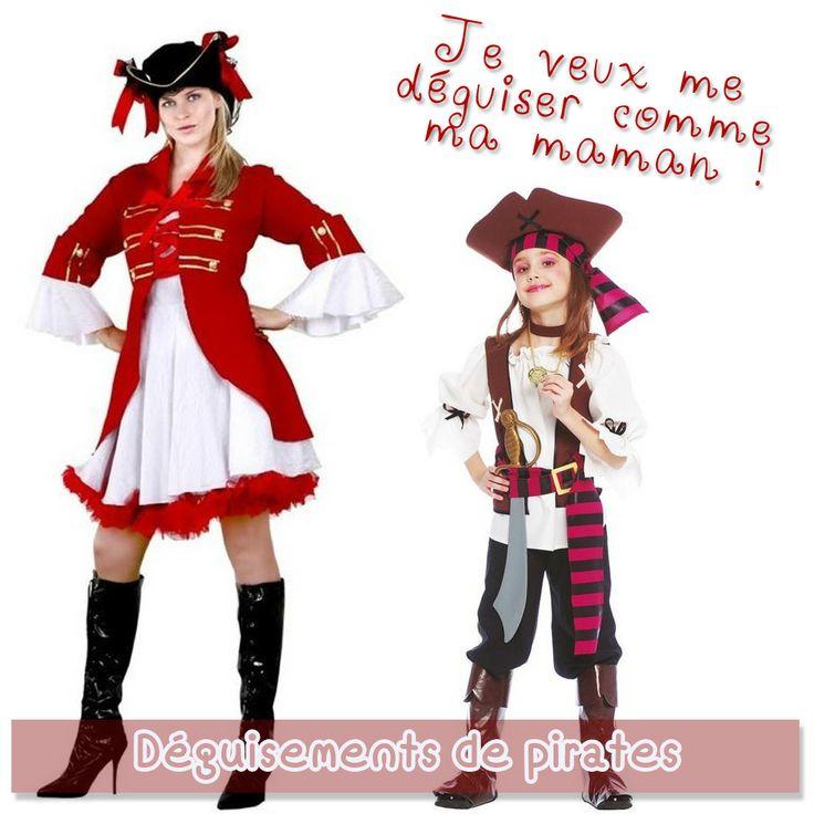 Ces déguisements de pirates plairont tout particulièrement aux femmes et aux petites filles aventurières.