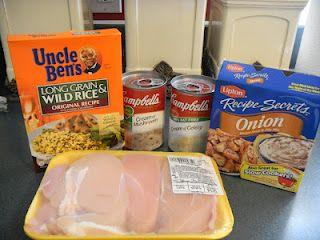 No Peek Chicken Recipe    Follow me at Keeping Up With the Joneses...  http://zachandashleyjones.blogspot.com/2012/03/no-peek-chicken.html